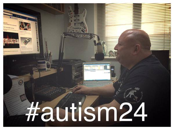 David 'Big D' Tonge's 24 hour Radio Show Marathon for Autism