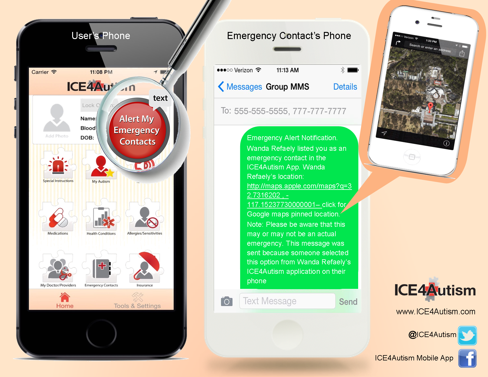 Interview – #ICE4Autism mobile app helps individuals with autism during emergency situations