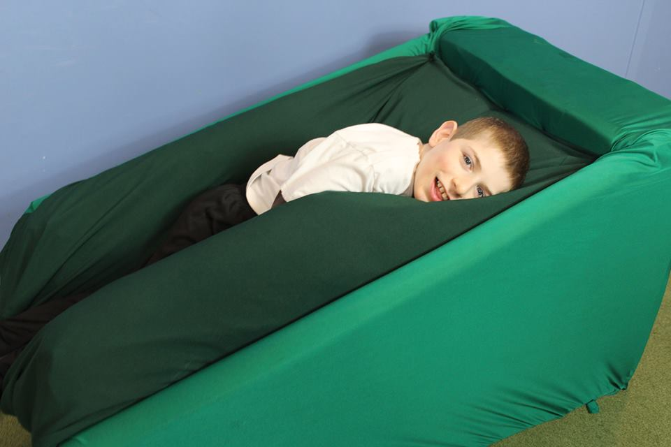 Students invent sensory chair for children with autism