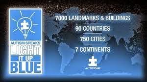 blue landmarks