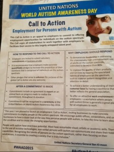 united nations autism awareness