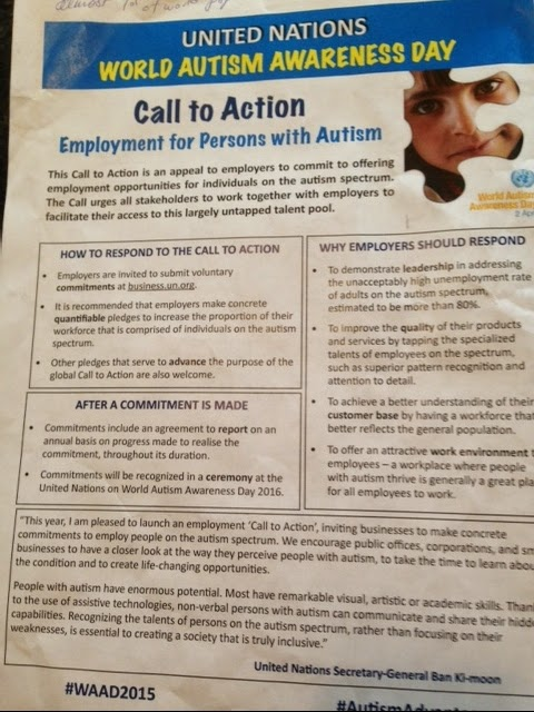 World Autism Awareness Day at the United Nations