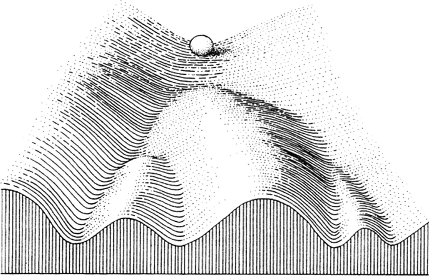 Waddington's epigenetic landscape, and being 'optimally autistic'