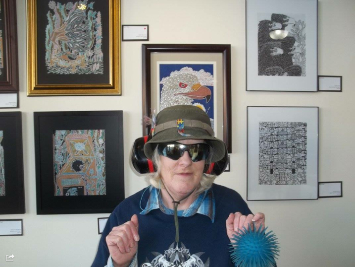 An appreciation of a very private Autistic Artist in our community