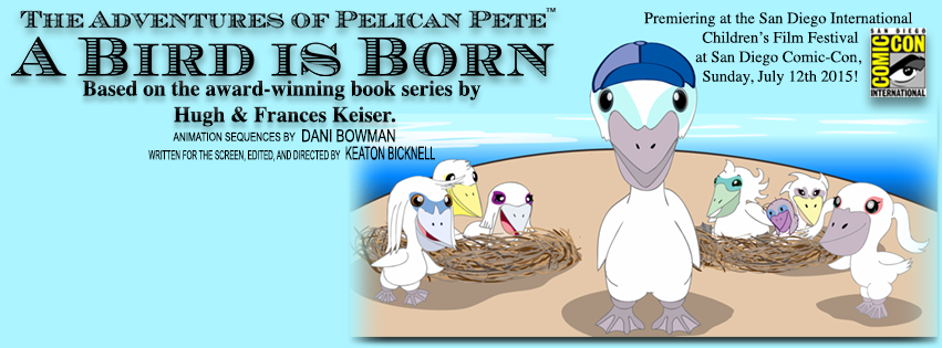 """Duo with autism creates short film on """"The Adventures of Pelican Pete: A Bird is Born"""" – w/video"""