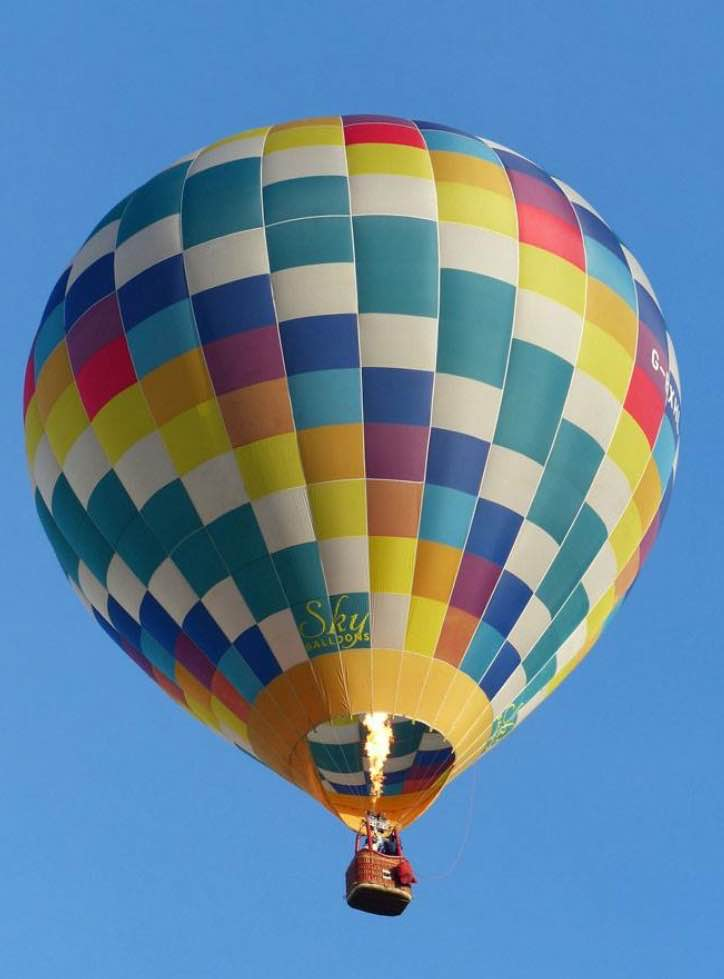 Reaching for the Sky – An Interview with an autistic balloon pilot