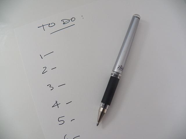 Junior Year 'To Do' List Ideas