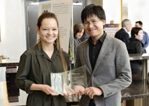 Managers of the Japanese retailer Uniqlo accept award as Gatepath's Employer of the Year for commitment to hiring people with disabilities. (PRNewsFoto/Gatepath)